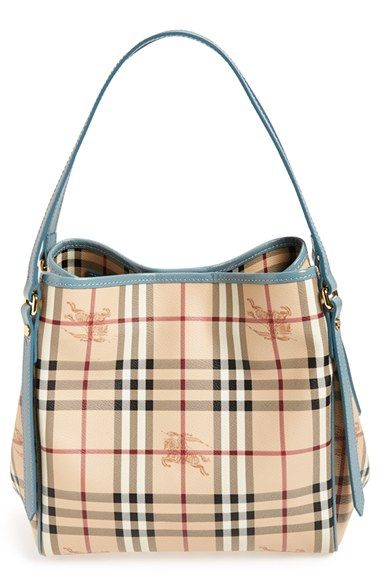 9ed76836aa3 Free shipping and returns on Burberry  Haymarket Check - Small Canterbury   Tote at Nordstrom.com. The perennially popular Small Canterbury tote is the  ...