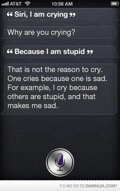 Siri, I love you.