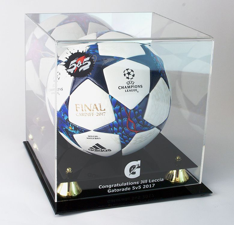 A Display Case Perfect For A Special Soccer Ball Display Case Display Case