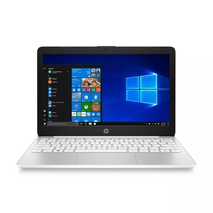 Hp 11 6 Stream Laptop With Windows 10 S Mode 32gb Storage Includes 1 Yr Microsoft 365 White 11 Ak0035nr Laptop Windows Best Laptops Ssd