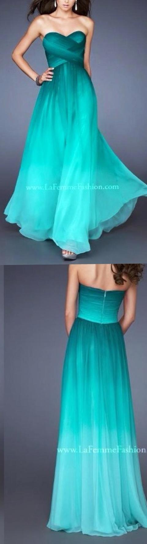Aqua dress this is like my dream dress