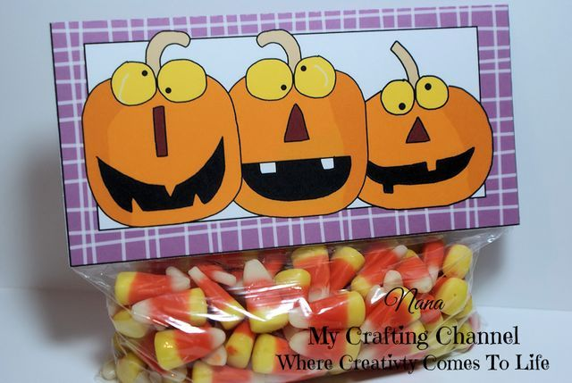 5 Funny Bag Toppers for Halloween