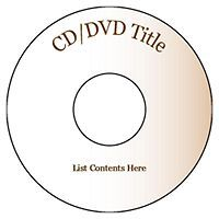 free averytemplates beige design cd dvd labels 2 per sheet