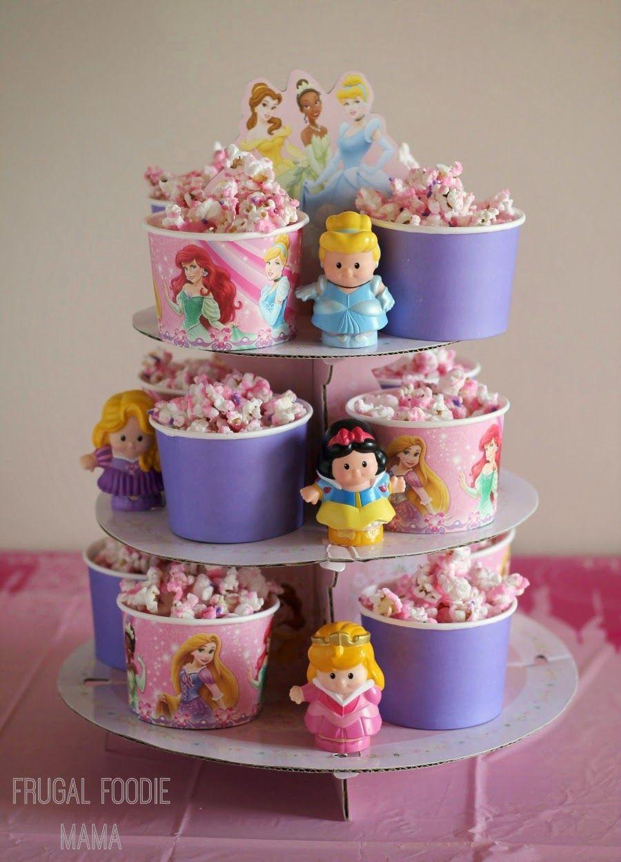 Sparkling Princess Popcorn Birthday Ideas Pinterest Geburtstag