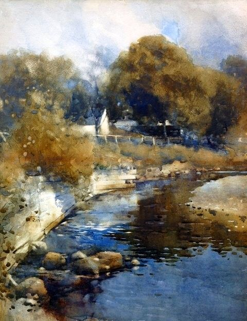 James Paterson Craigdarroch Water 1889 James Paterson Painter