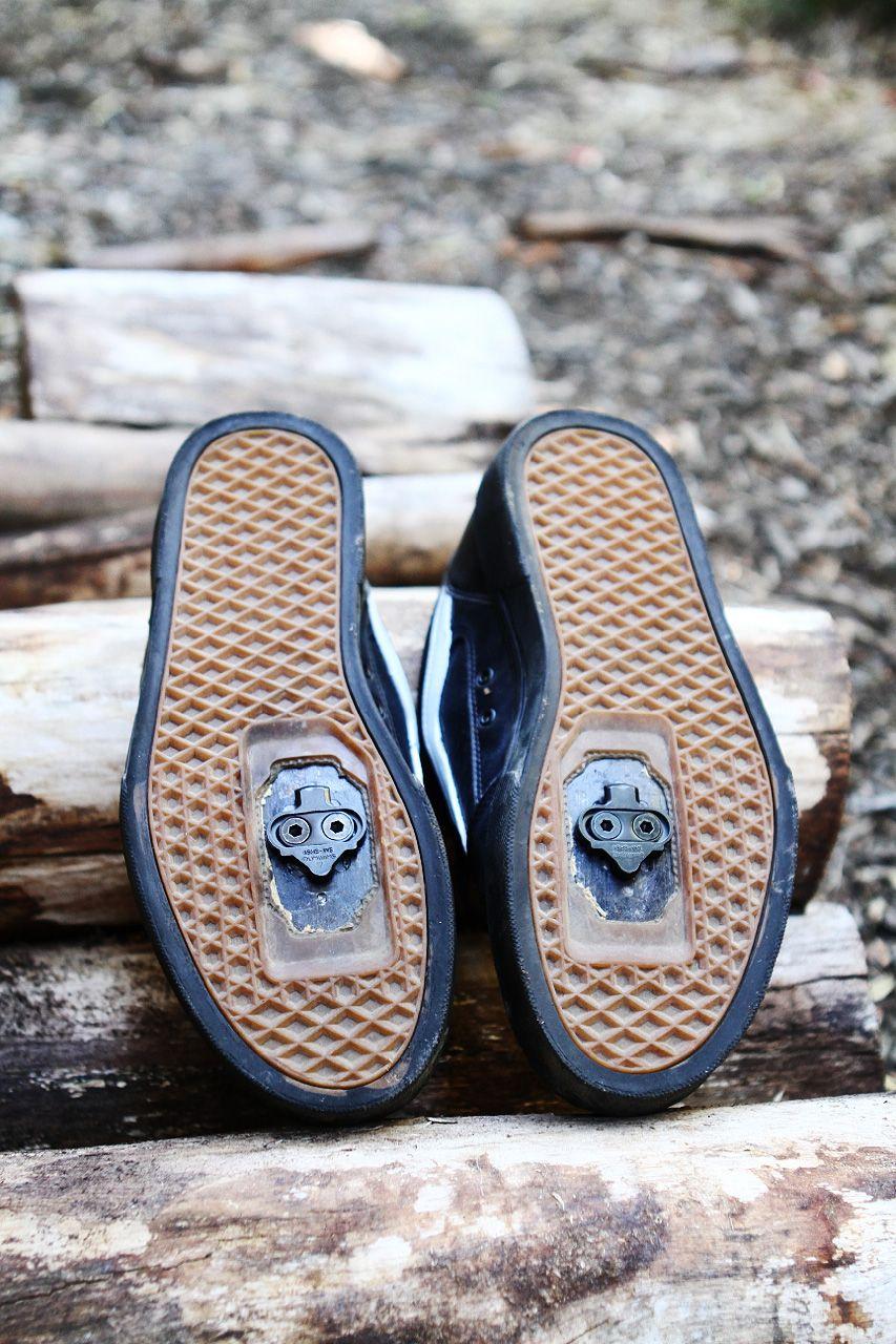 vans spd mountain bike shoes