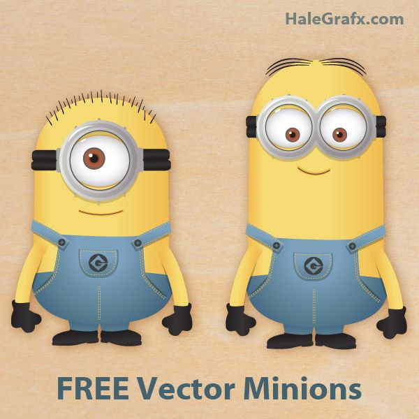 Vector Minions 2 Free Vector Despicable Me Minions With Images