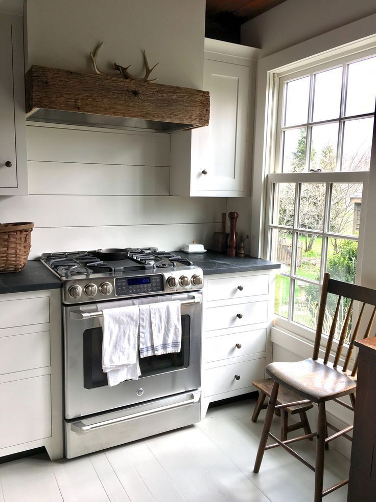 kitchen remodel 2017 wall color bm white dove cabinets olde century c mutfak on kitchen remodel not white id=73201