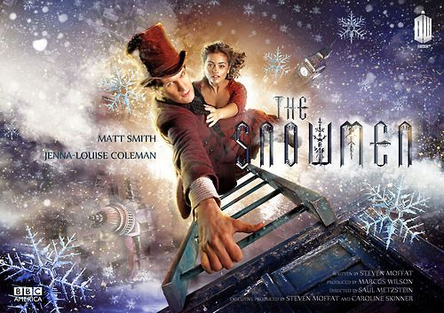 Here is the poster art for the 2012 Doctor Who Christmas Special: The Snowmen  (premieres December 25, 2012 on BBC America, BBC ONE, and SPACE)