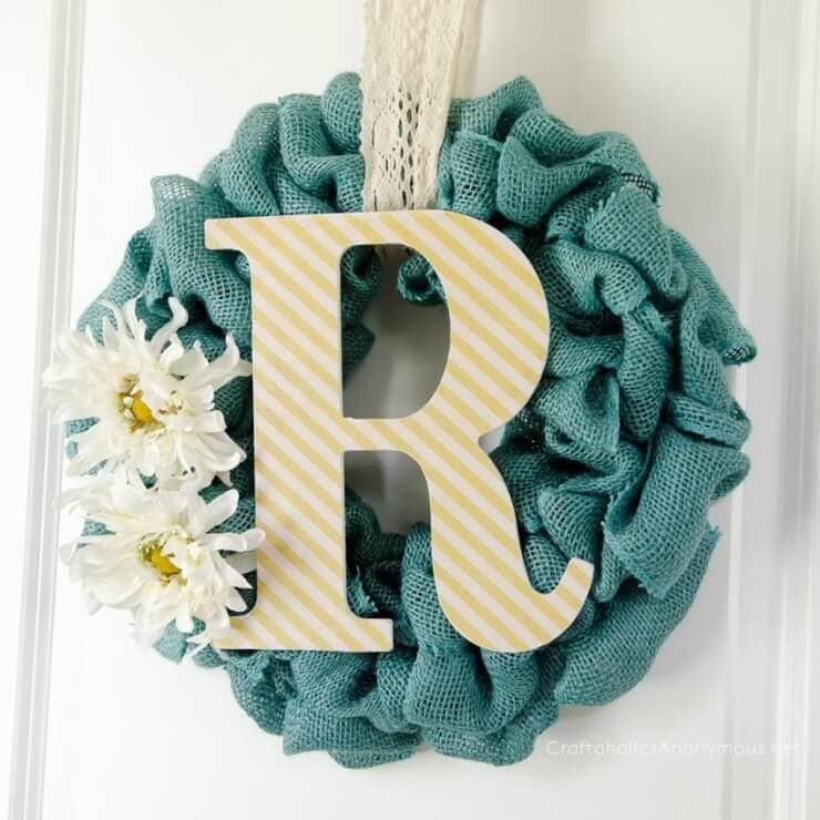 Photo of Summer Burlap Wreath