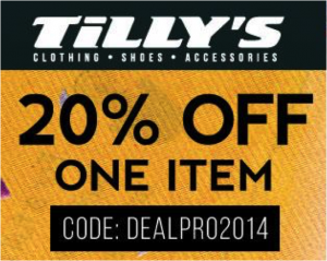 Tillys Promo Code 2014 Get 20 Discount Work Money Fun Tillys Coding 20 Off