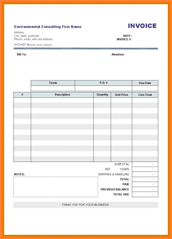 Rent Receipt Pdf Invoice Template Word Printable Invoice Invoice Sample