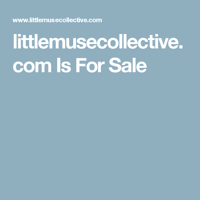 littlemusecollective.com Is For Sale