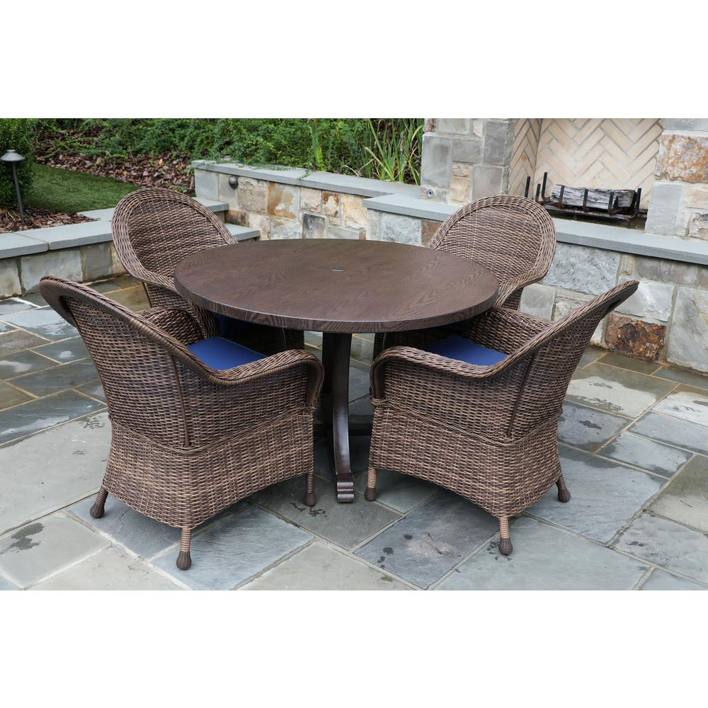 26+ Home depot wicker patio dining sets Best