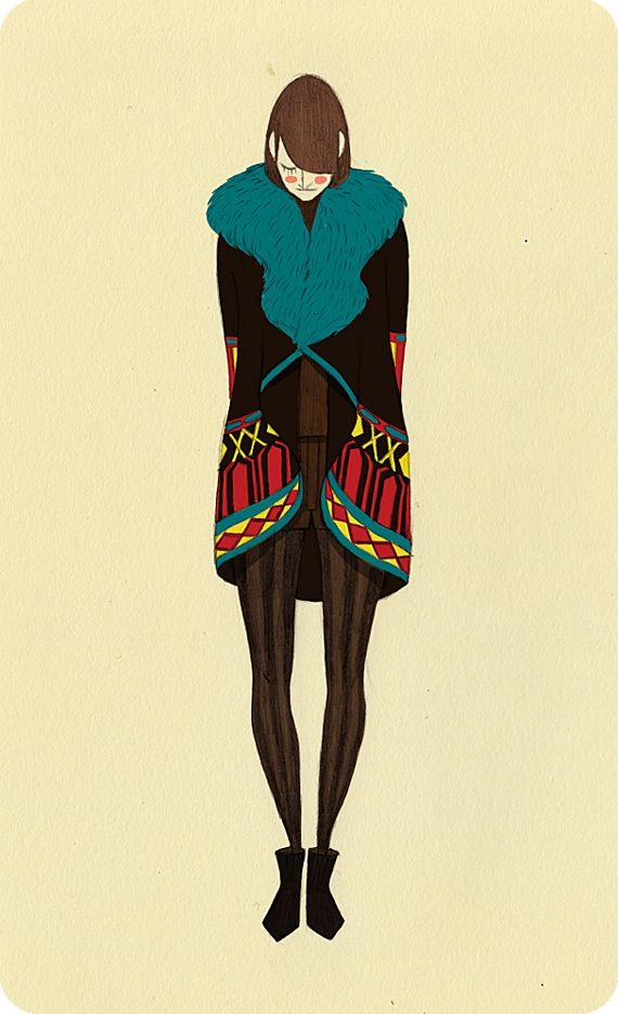 Ericka Lugo Fashion Illustrations