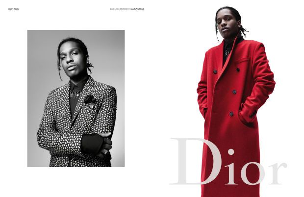 A$AP Rocky for Dior Homme. Photo: Willy Vanderperre