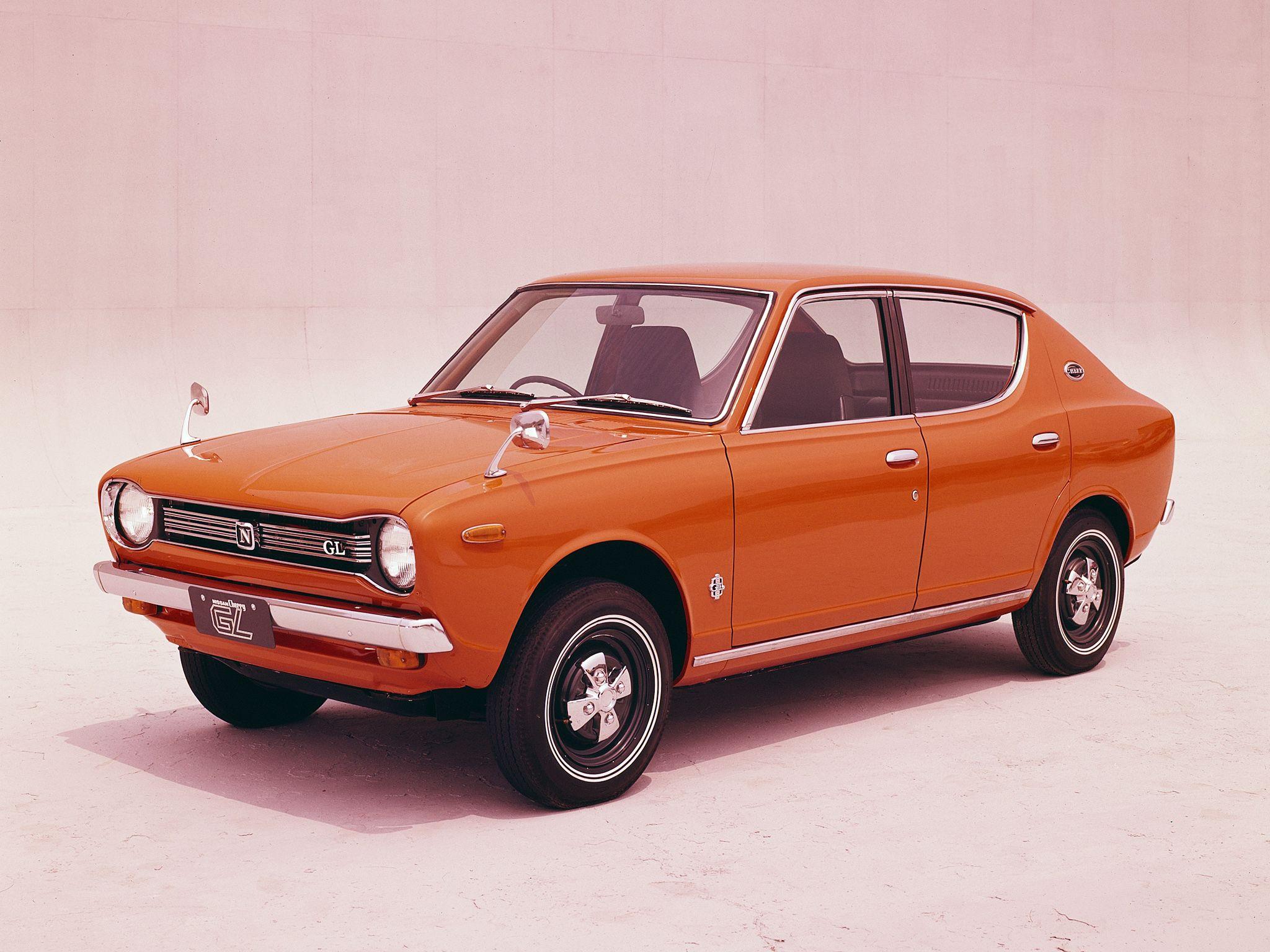 1970–74 Nissan Cherry GL 4-door Sedan (E10) | Kyokujitsu ...