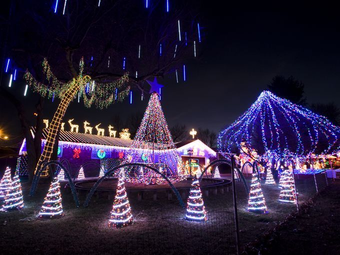 want to look at some awesome christmas light displays this season the news leader has a map of some for you