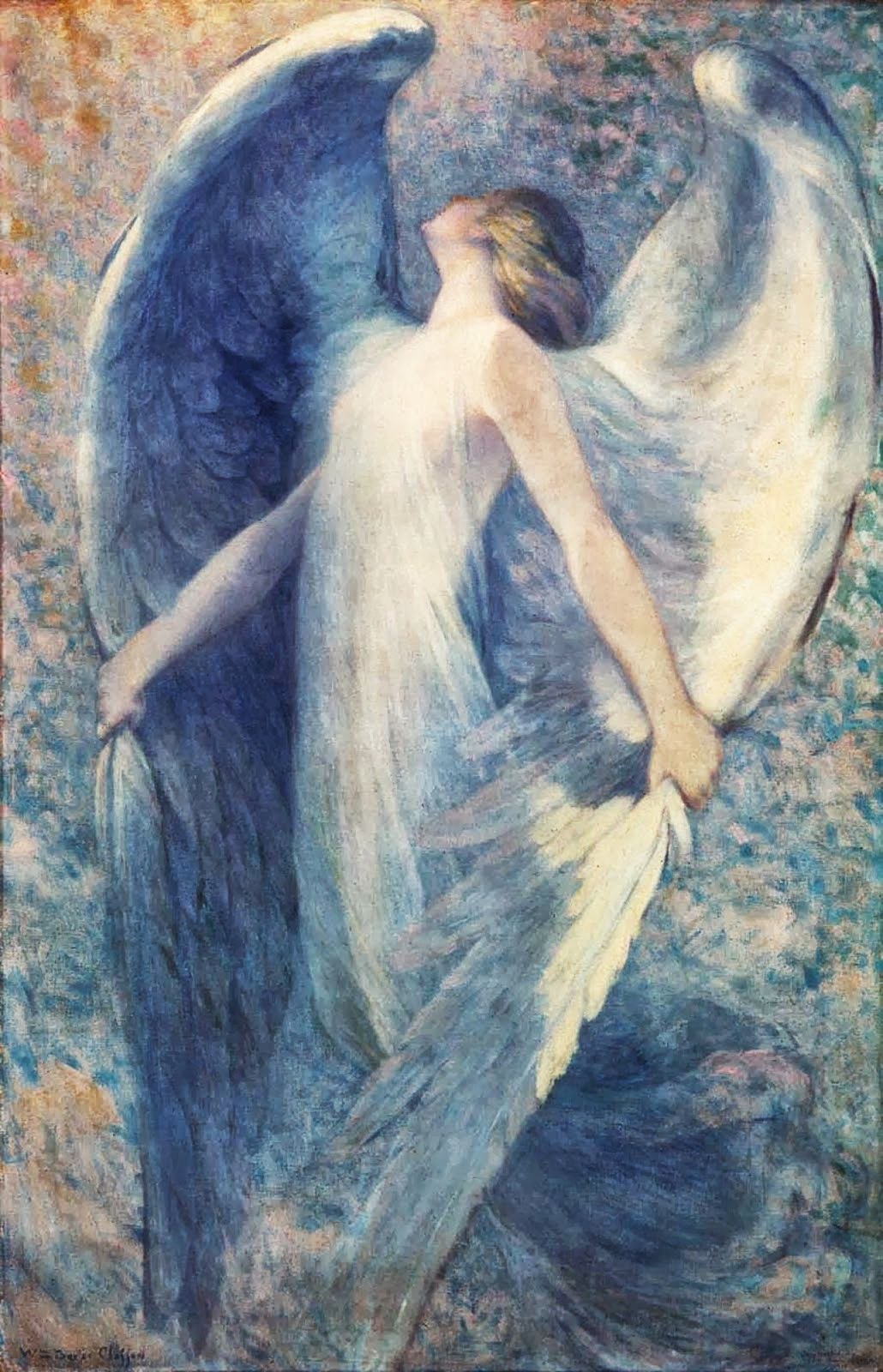 William Baxter Closson (American, 1848-1926). The Angel