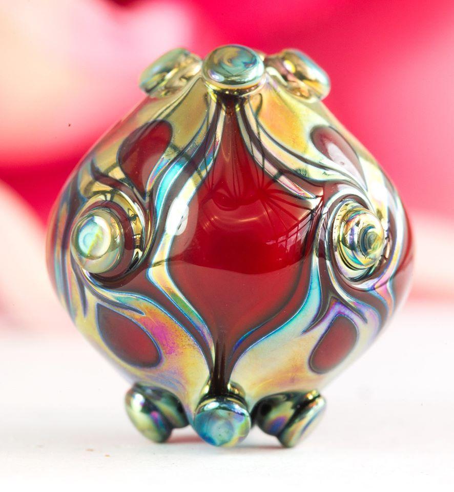 Clare scott lampwork bead jewelry lampwork glass beads