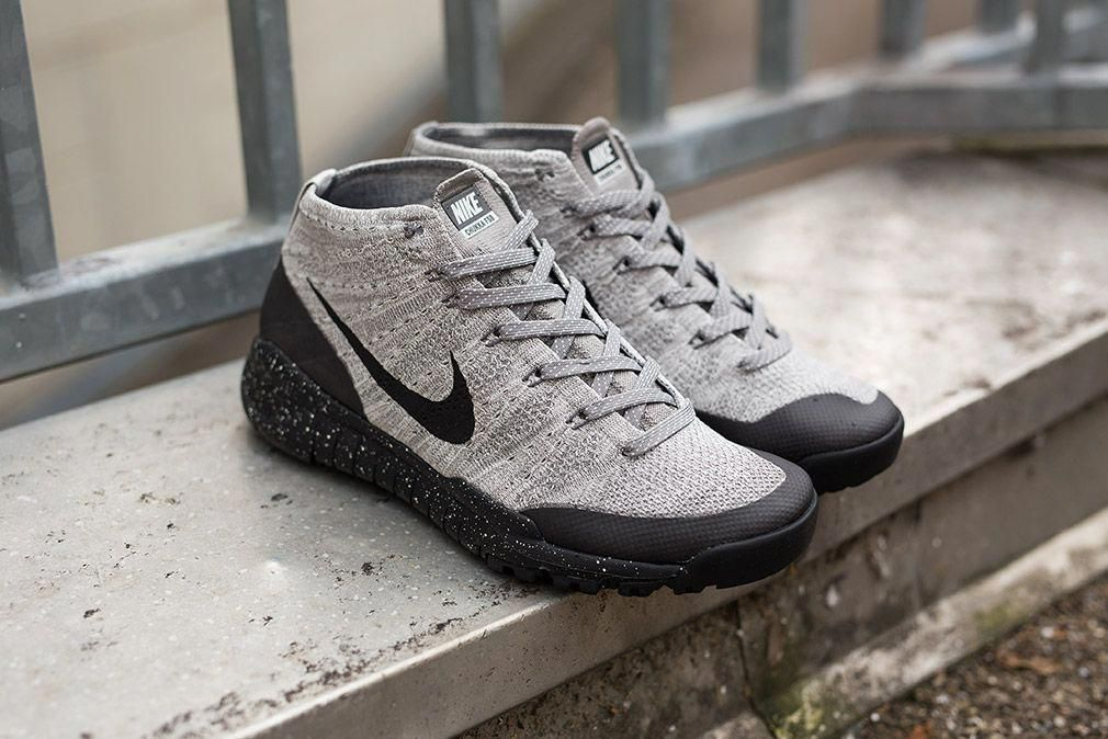 buy online 5d1f2 87d47 Infos Nike Flyknit Trainer Chukka FSB Charcoal Style code  625009-001  Color  Light CharcoalBlack-So Sneakers