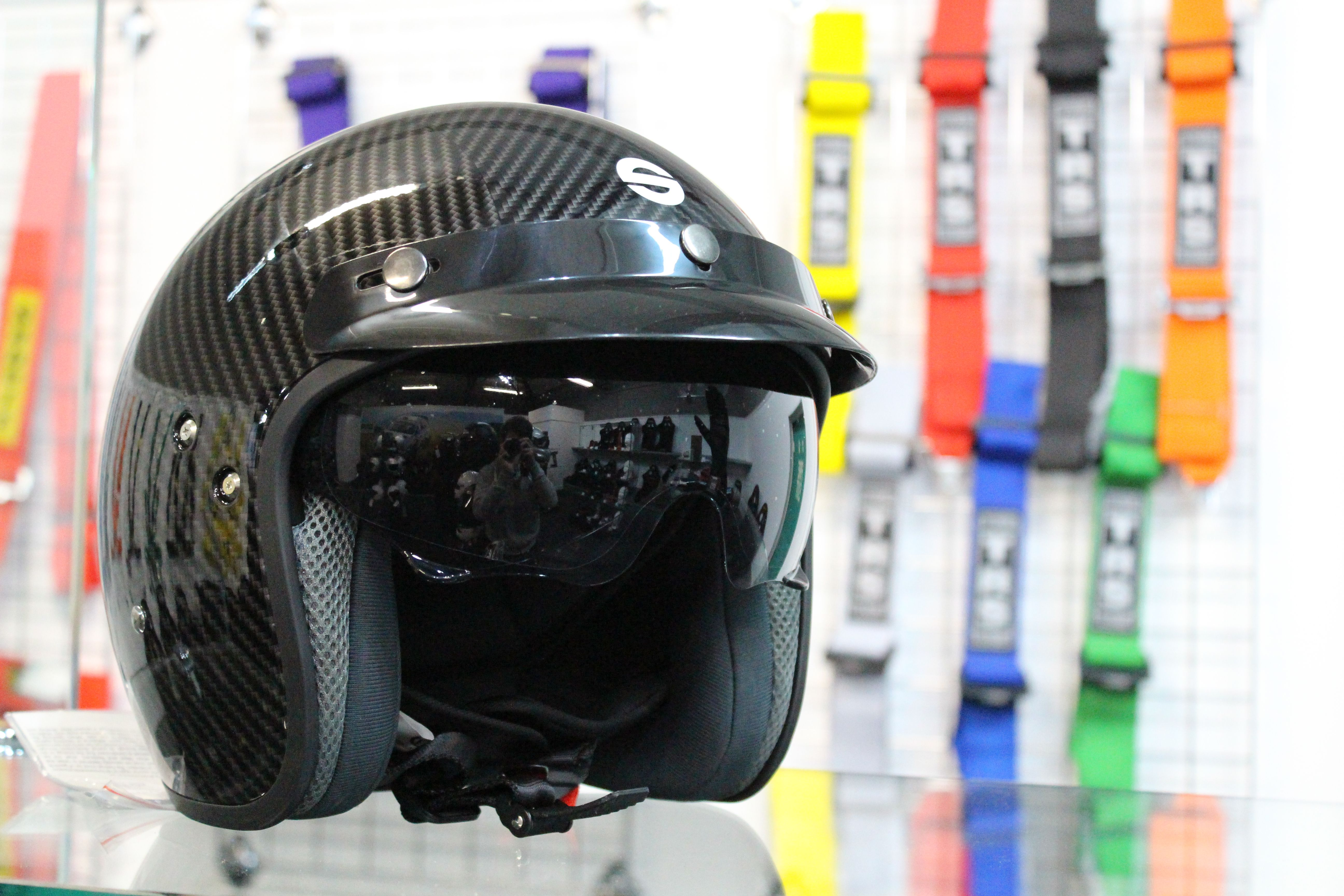 db604284 The all-new Sparco Club J1 Carbon Helmet is perfect for looking the part  when you're behind the wheel on a track day. For just £99.00, it's  phenomenal value ...