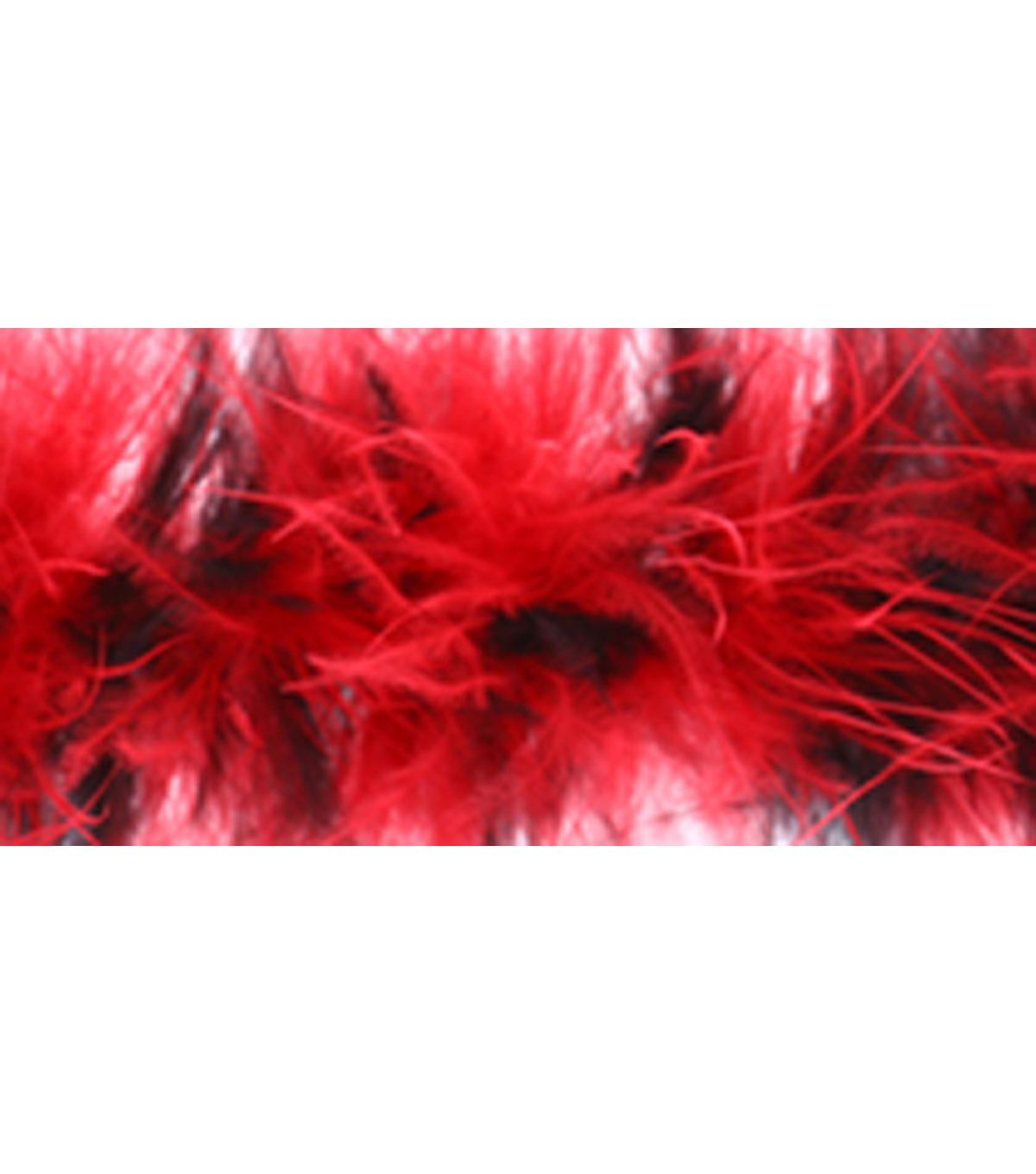 Red 2 Ply Ostrich Feather Medium weight Boa Costume Dress Halloween 2 Yards