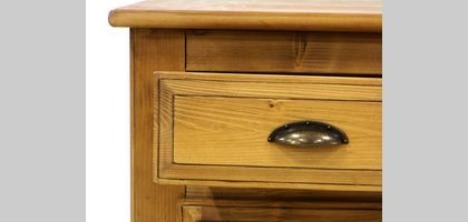A chest of drawers is a type of wooden box.