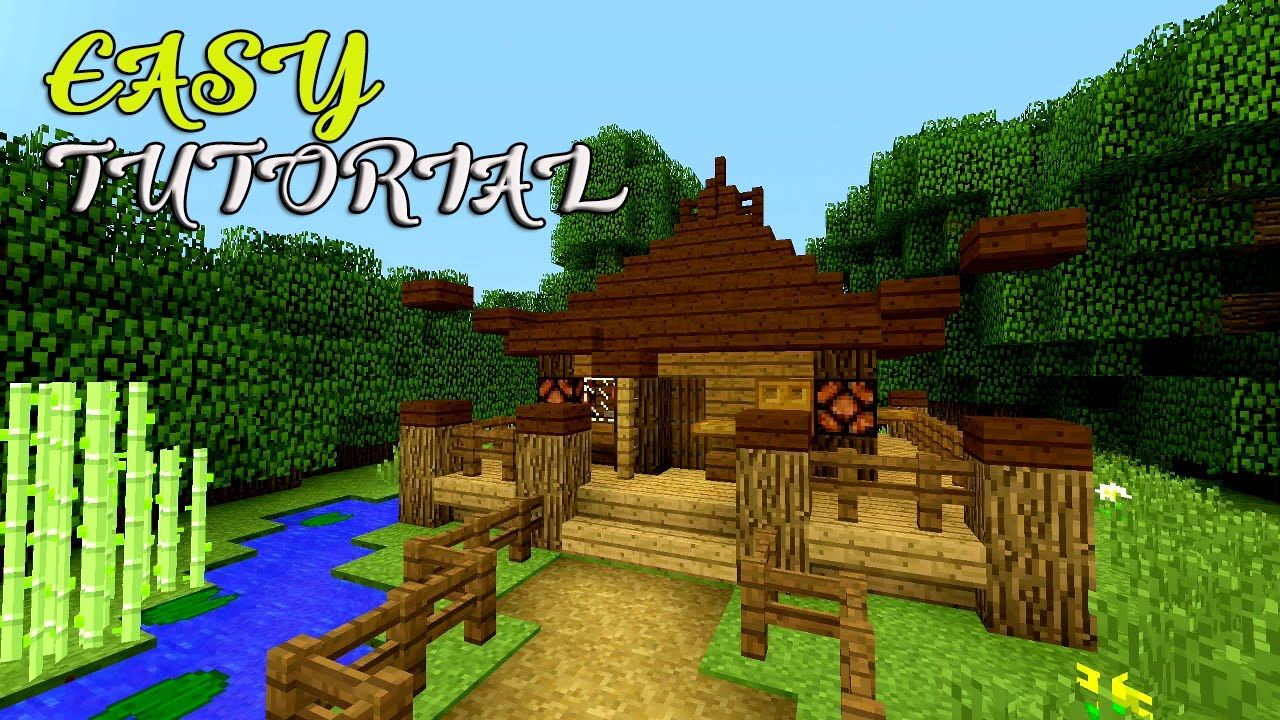 [ Japanese ] Minecraft How to make a small house tutorial