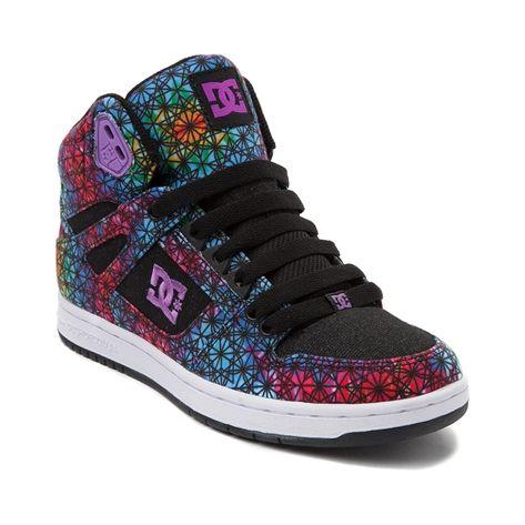 50e4c116a4 kaleidoscope Rebound Hi Skate Shoe from DC! I need this shoe ...
