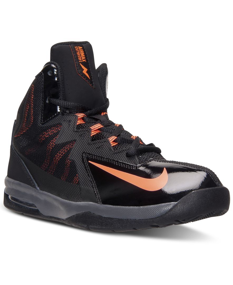 new arrival 58d7a ad175 Nike Boys' Air Max Stutter Step 2 Basketball Sneakers from Finish Line