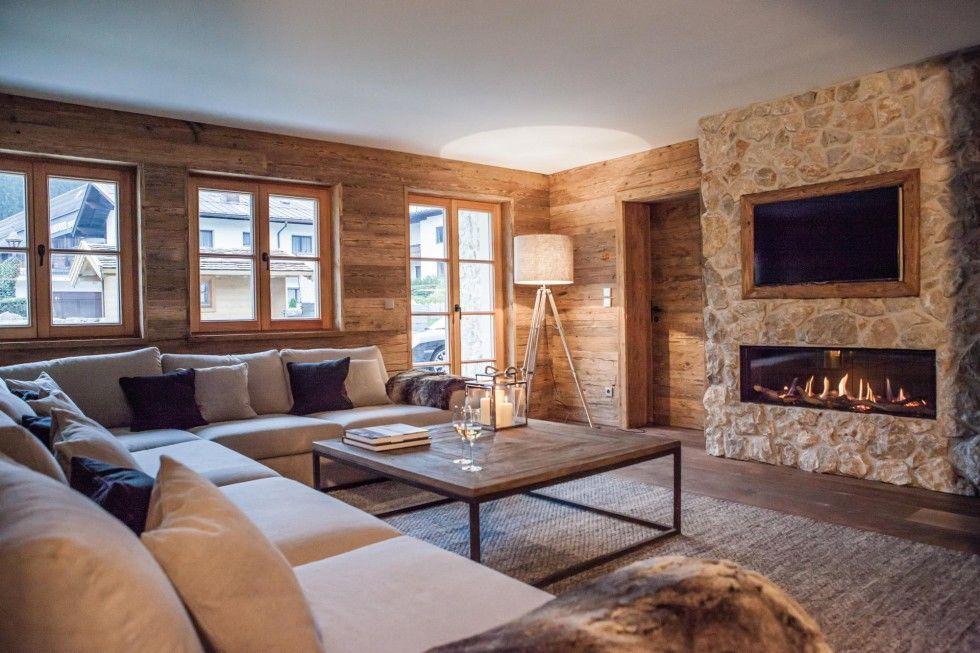 Wie sieht das klassische Wohnzimmer mit Altholz und bodentiefen - theke für wohnzimmer