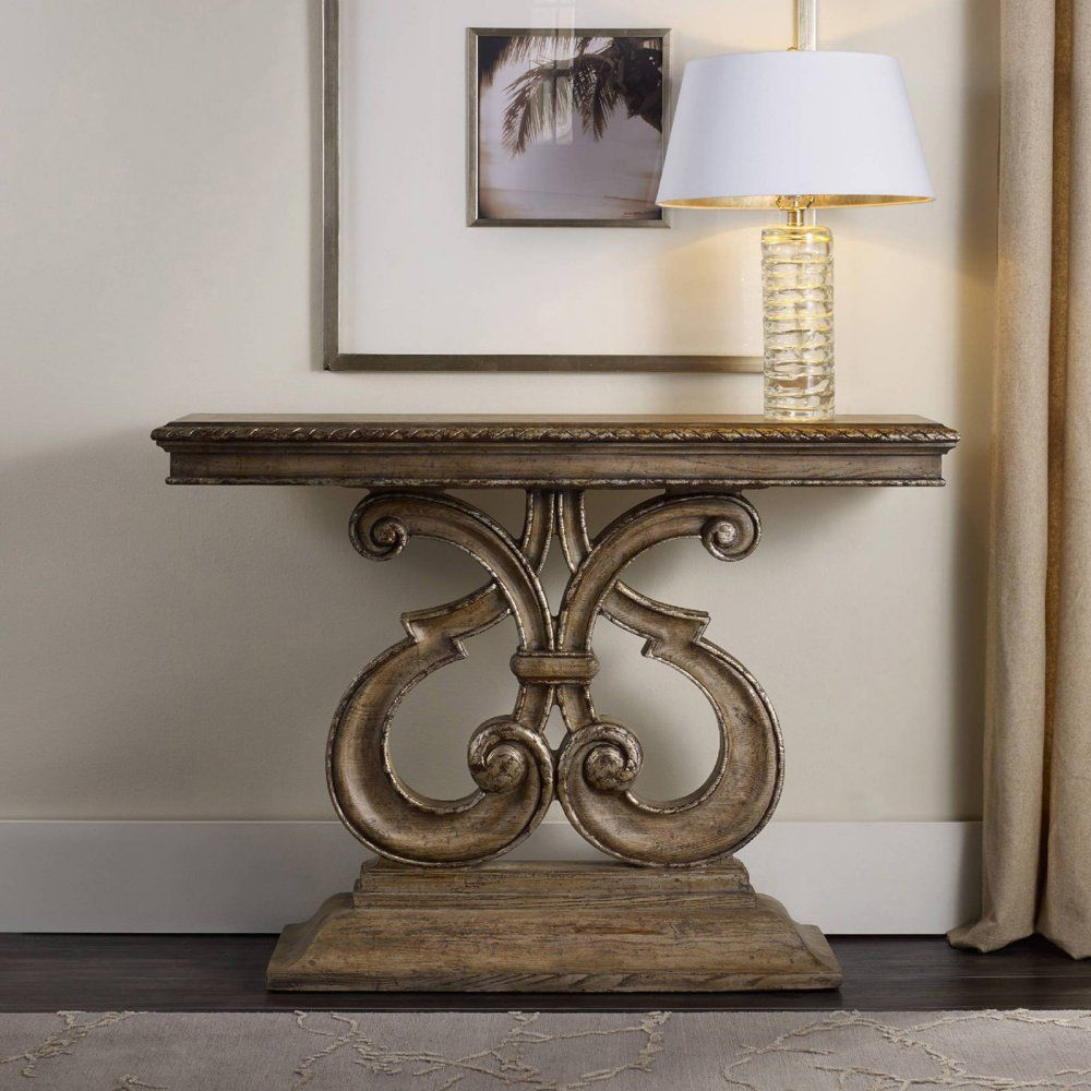 Hooker furniture solana console table console tables at for Affordable furniture jonesboro arkansas