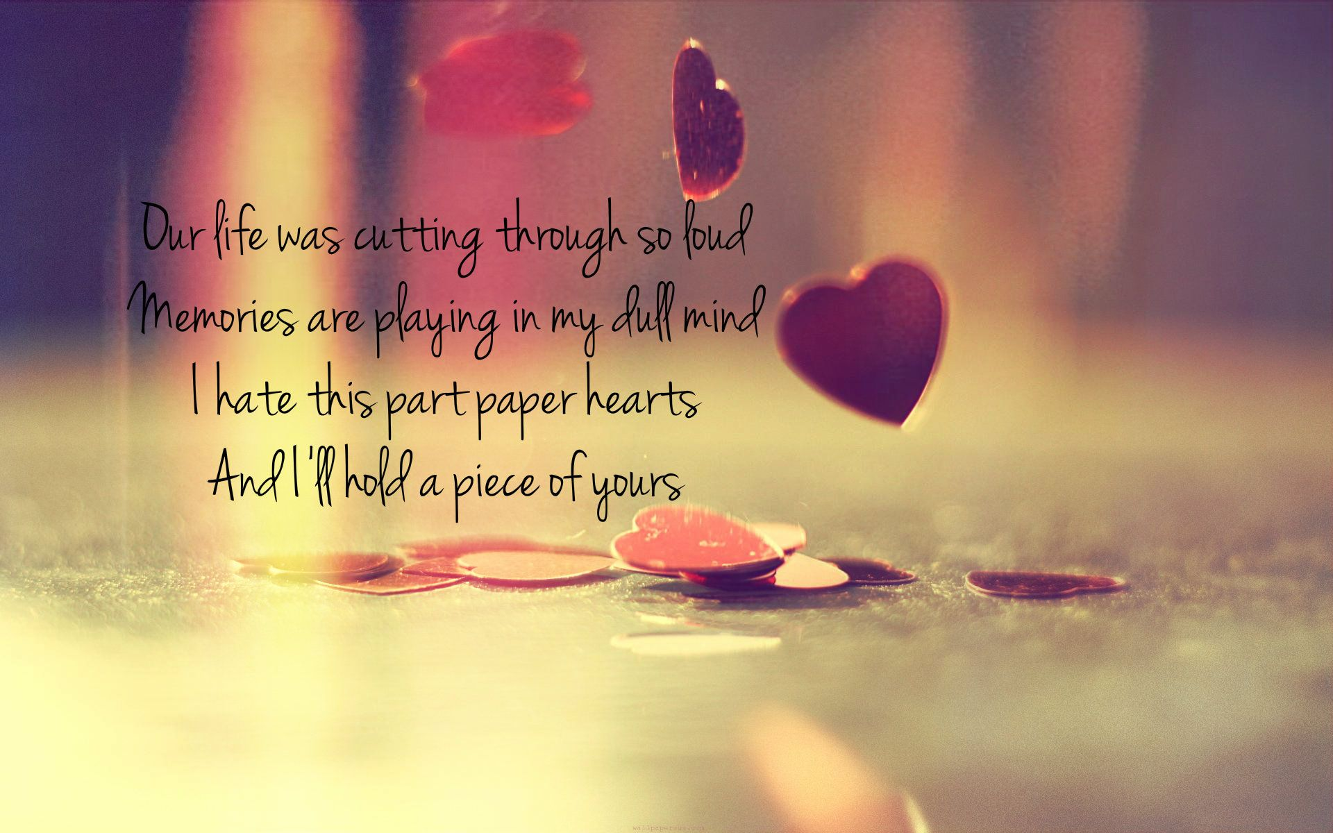Paper Hearts Tori Kelly Lyrics Paper Hearts Tori Kelly