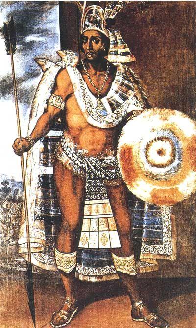 Moctezuma, Emperador Azteca