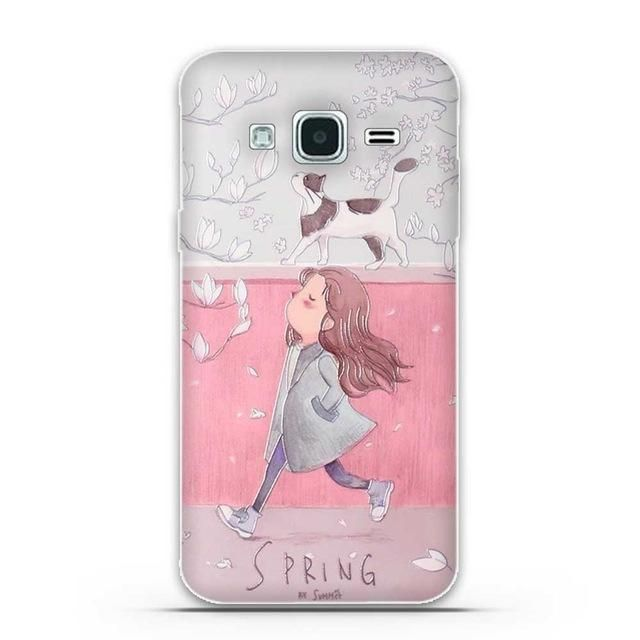 Cover For Samsung J3 2016 Case Pattern Silicon Case For Samsung Galaxy J3 2016 Case 3d Relief Soft Tpu Cover In 2021 Silicone Phone Case Phone Case Cover Silicon Case