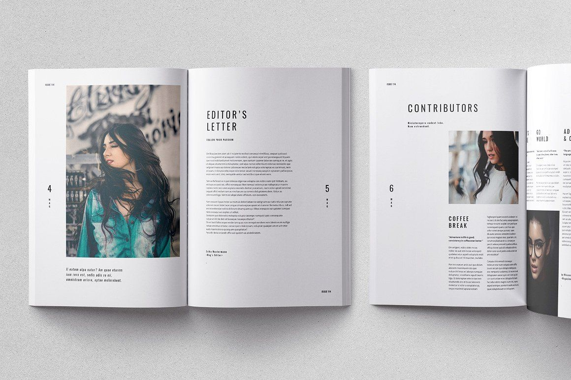 Cult Magazine Cult Magazine is a 44-page Adobe InDesign template ...