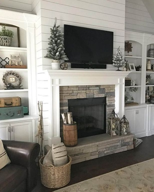 Backstein Kamin Verjüngungskur · Kaminideen · 20 Mantel Decorating Ideas  For Your House To Be More Stylish Check More At Http:
