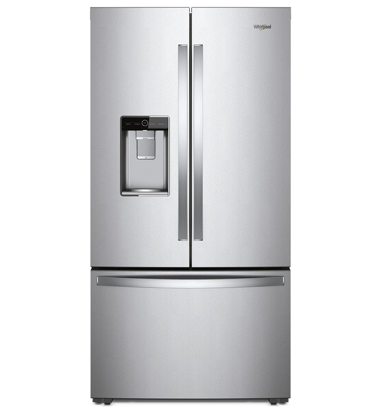 Wrf954cihz By Whirlpool French Door Refrigerators Goedekers Com French Door Refrigerators French Doors Refrigerator