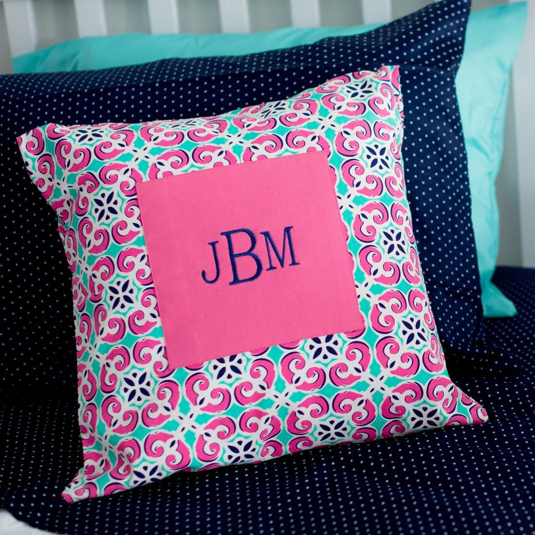 Mia Tile Pillow Cover