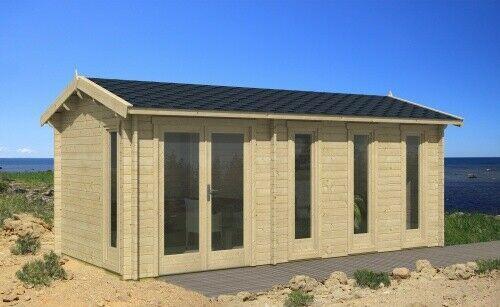 Details zu Tene Gartenhaus Nice 575x300 cm Gerätehaus