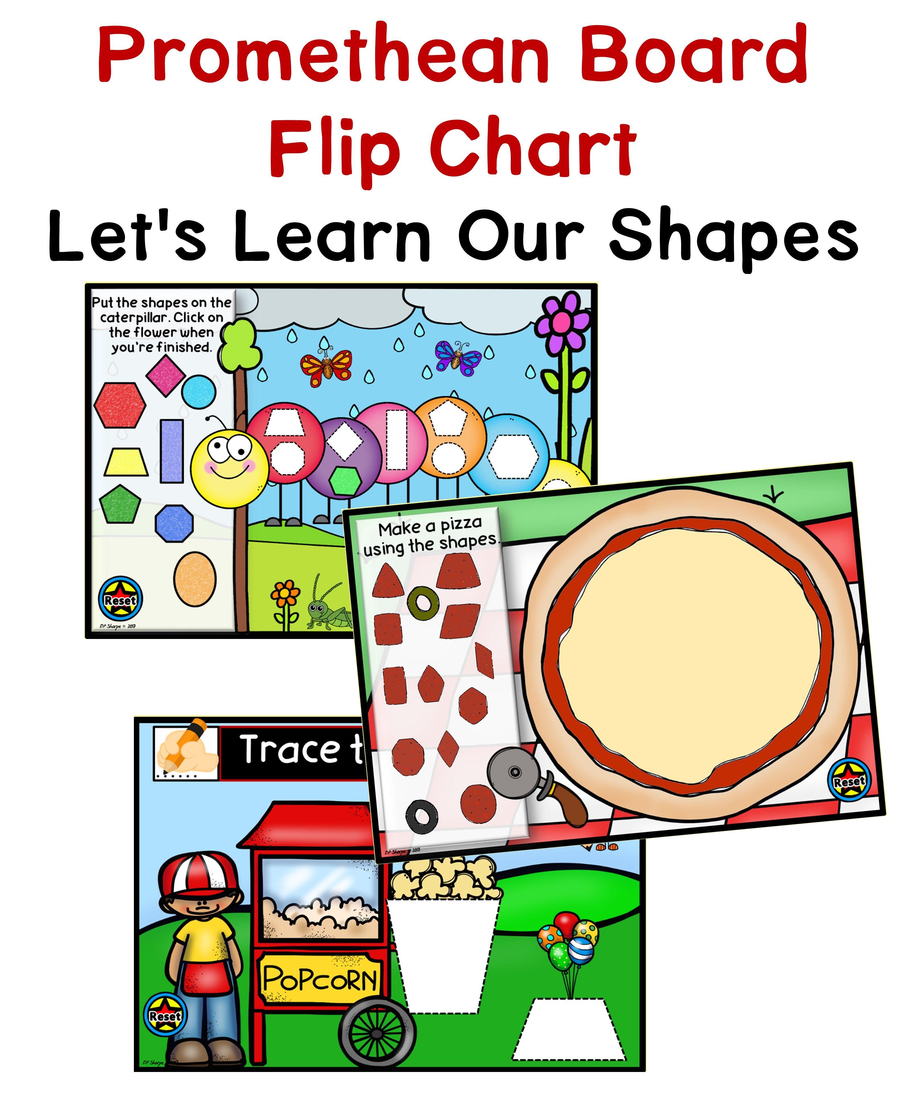 Shapes Promethean Board Flip Chart