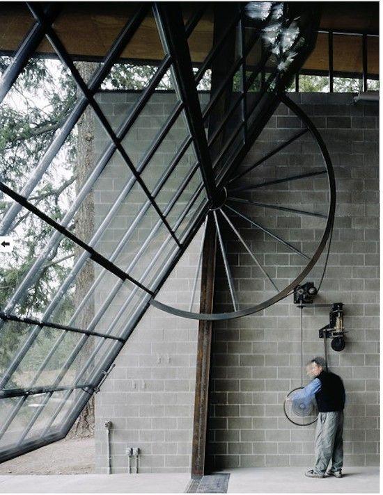 Architectural Element 7 Retractable Garage Doors Gardenista Glass Garage Door Architectural Elements Architecture
