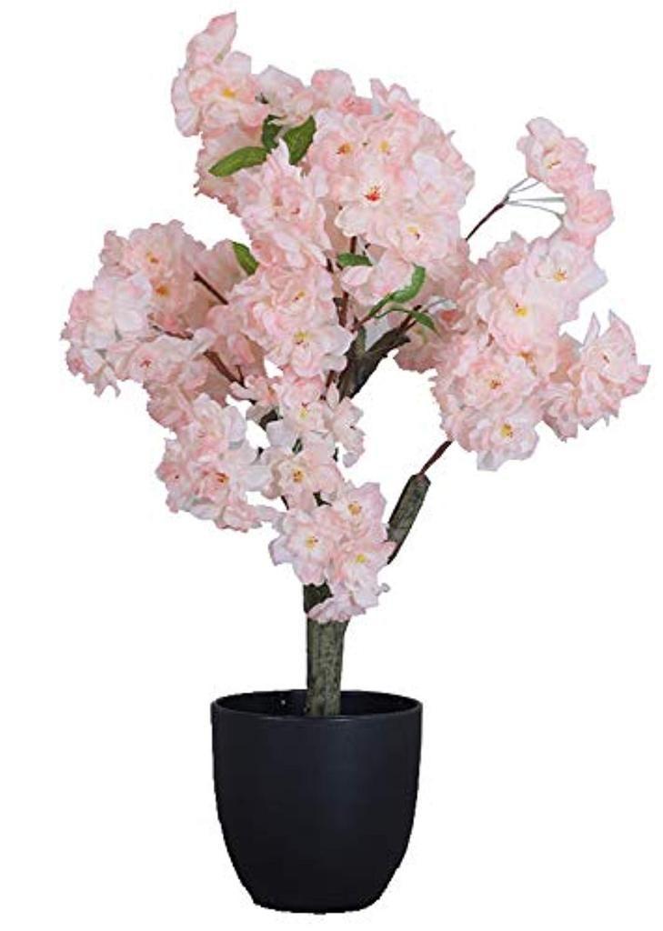 Artificial Cherry Blossom Bonsai Silk Tree Silk Tree Cherry Blossom Bonsai