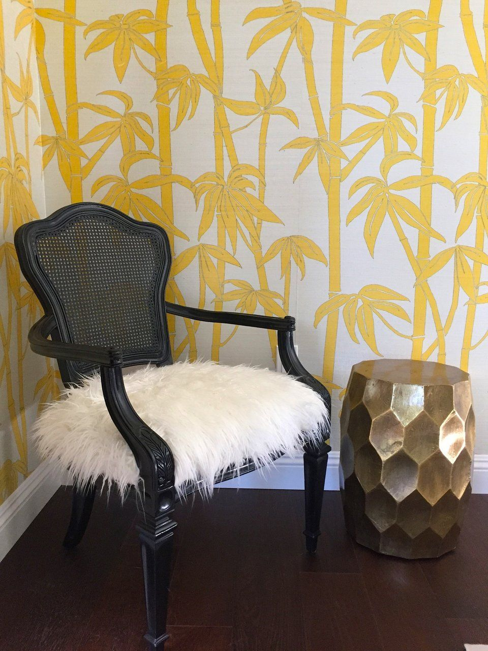 Best Canary Bamboo Grasscloth Wallpaper With Images 400 x 300
