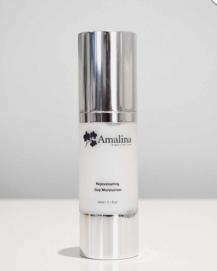 Our Organic Rejuvenating Day Moisturiser is an essential part of our daily skin care routine.