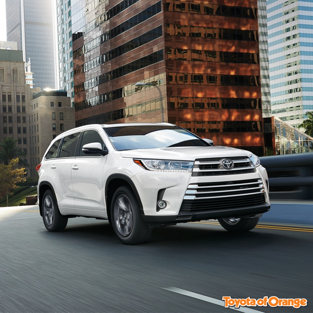 Have A Look At The 2019 Toyota Highlander Hybrid At Tustin Toyota Service In 2020 Toyota Highlander Hybrid Toyota Highlander Interior Toyota Highlander