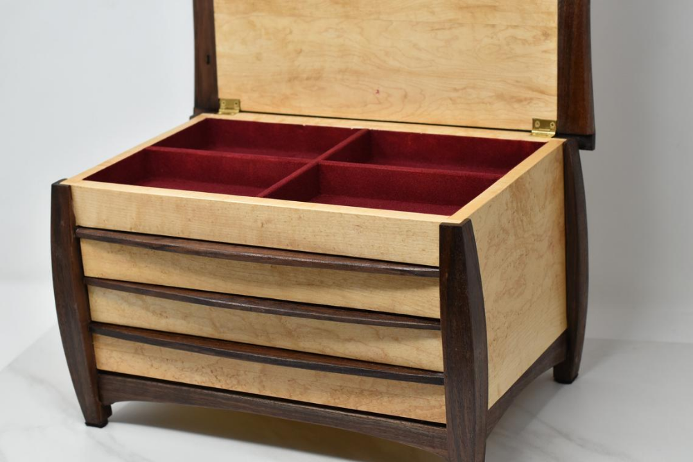 14+ 3 drawer wooden jewelry box ideas in 2021