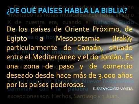 CURIOSIDADES DE LA BIBLIA.