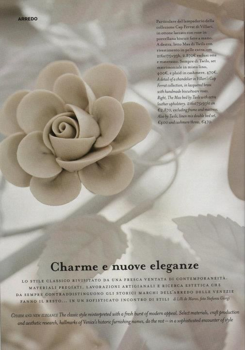 "VILLARI for the magazine ""Marie claire maison"" in september 2011"